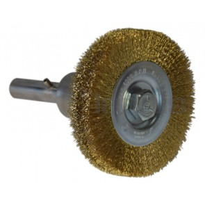 Wire Brush 4'' on bayonet for Mini Grinders Series