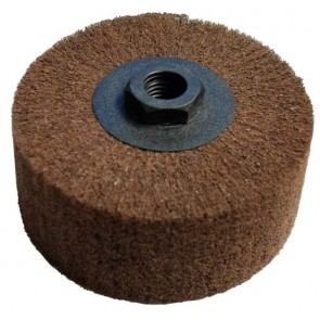 Lamel Scotch Brite wheel, 5/8-11 Thread