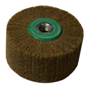 Lamel Scotch Brite wheel, Thread M16