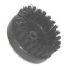 Round PVC brush for Scarpavapor tool gun